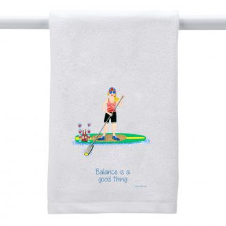 Balance . . .Good Thing - Hand Towel