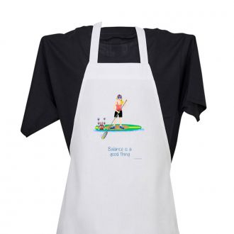 Balance . . .Good Thing - Apron