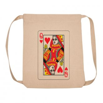 Queen of Hearts - Back Pack