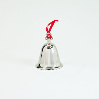 BELL WITH RED RIBBON