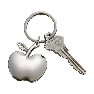 APPLE SHAPED KEY CHAIN