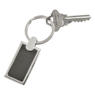 MATTE FINISH RECTANGULAR KEY CHAIN
