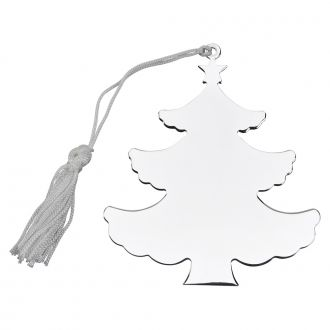 HOLIDAY TREE SHAPED ORNAMENT