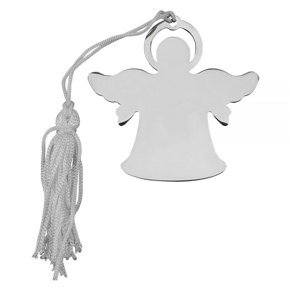ANGEL ORNAMENT W/WHITE TASSEL, NP