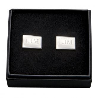 PAIR OF RECTANGULAR CUFF LINKS