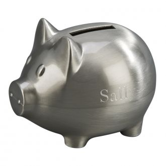 SMALL PIGGY BANK WITH MATTE FINISH