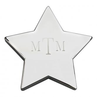 STAR SHAPED PAPERWEIGHT