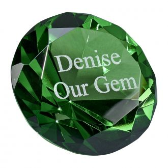 EMERALD COLOR PAPERWEIGHT