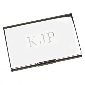BRIGHTLY POLISHED CARD CASE