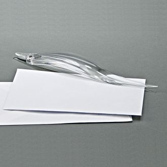 CLEARYLIC LETTER OPENER WITH STAPLE REMOVER