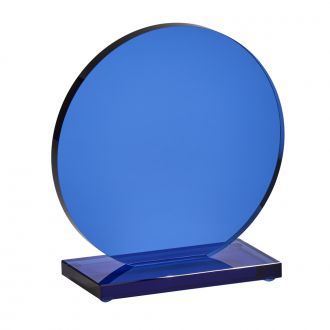 Small Cobalt Orb Trophy, 5