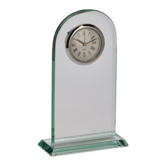 Glass Arched Clock 8