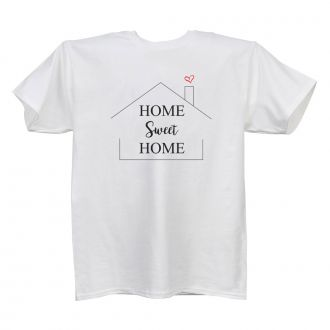 Home Sweet Home (House) White T Shirt
