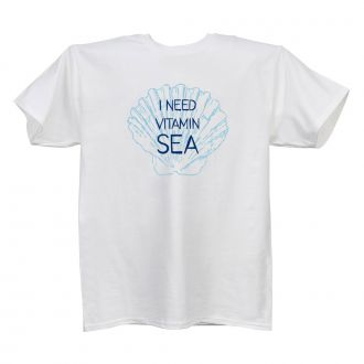 I Need Vitamin Sea White T
