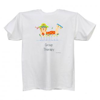 Group Therapy - Ladies' White T - LARGE