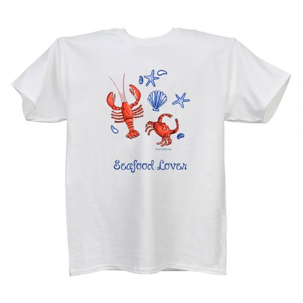 Seafood Lover (CE) White T Ladies