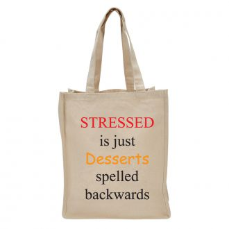 Stressed is Desserts . . . - Tote Bag