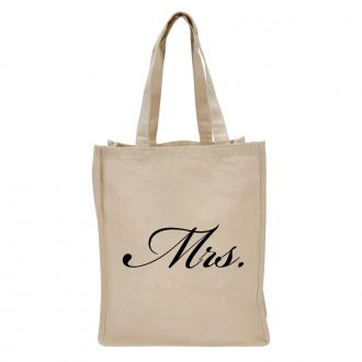 Mrs. (in script) - Tote Bag
