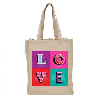 LOVE (in 4 blocks) - Tote Bag