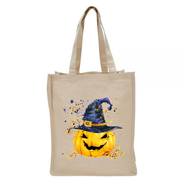 Pumpkin with Hat - Tote Bag