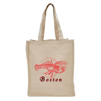 Lobster (add city or town) - Tote Bag