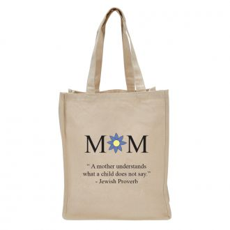 MOM (Jewish Proverb) - Tote Bag