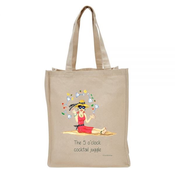 5 O'Clock Cocktail Juggle - Tote Bag