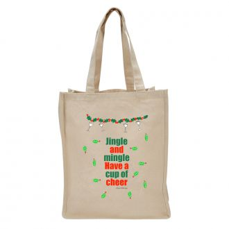 Jingle . . . Mingle . . . Cheer - Tote Bag