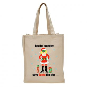 Just Be Naughty . . . - Tote Bag