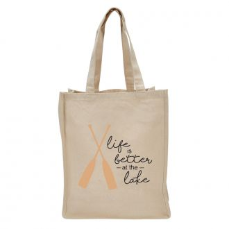 Life Is Better At The Lake - Tote Bag