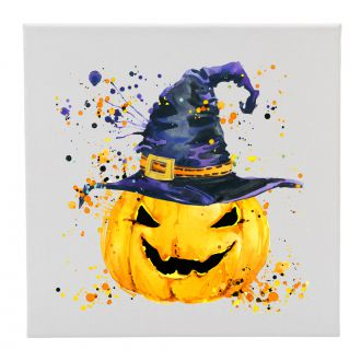 Pumpkin with Hat - 12