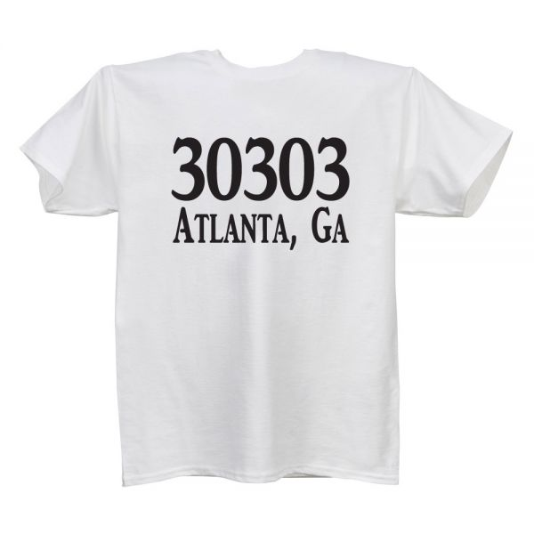 Zip Code (Location) White T Ladies
