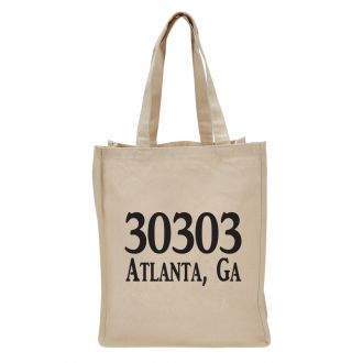 Custom Zip Code (add location) - Tote Bag