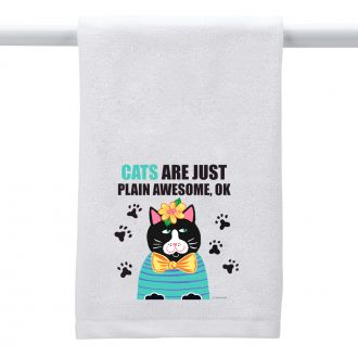 Cats . . . Awesome - Hand Towel