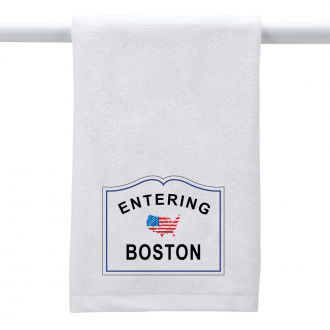 Entering (add city or town) - Hand Towel