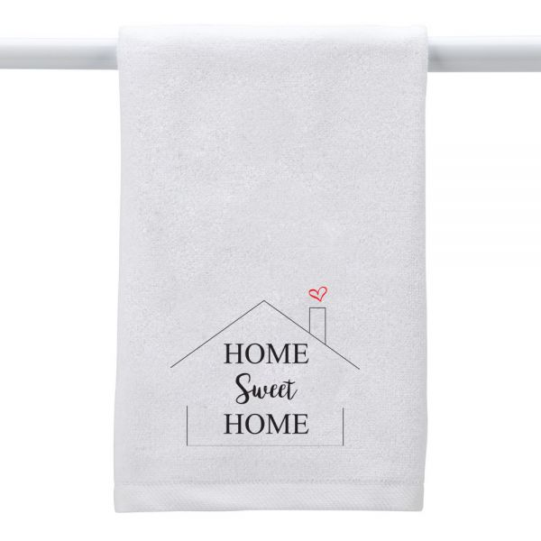 Home Sweet Home (house) - Hand Towel