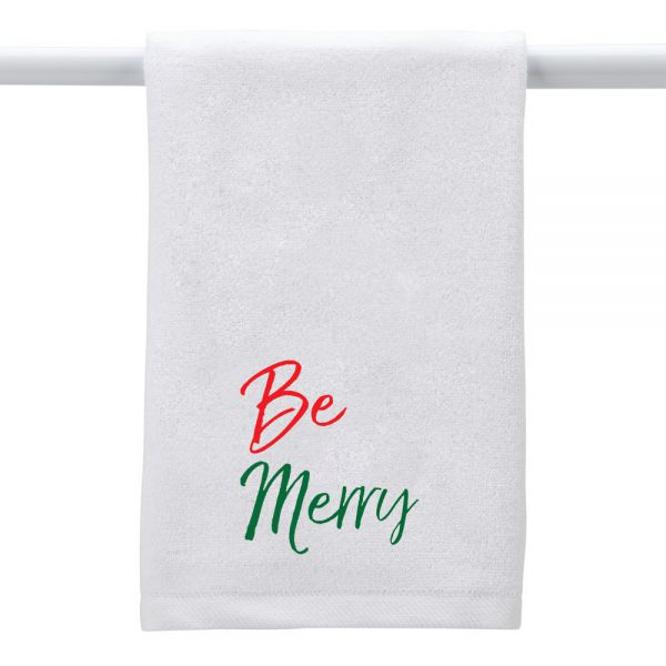 Be Merry - Hand Towel