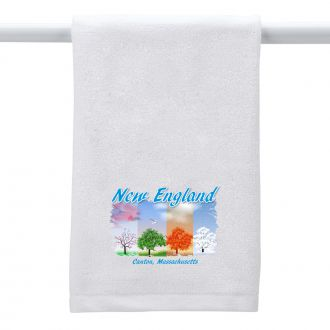 Seasonal Trees (location) - Hand Towel