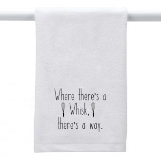Where There's a Whisk . . . - Hand Towel