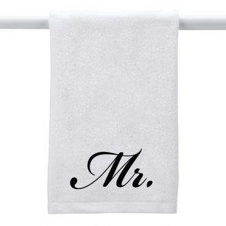 Mr. (in script) - Hand Towel