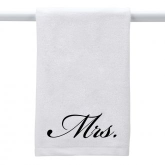 Mrs. (in script) - Hand Towel