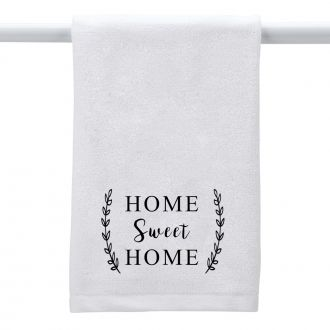 Home Sweet Home (wheat) - Hand Towel