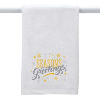 Seasons Greetings - Hand Towel