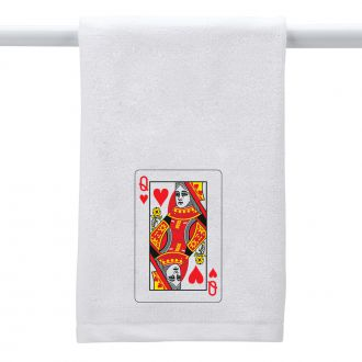 Queen of Hearts - Hand Towel