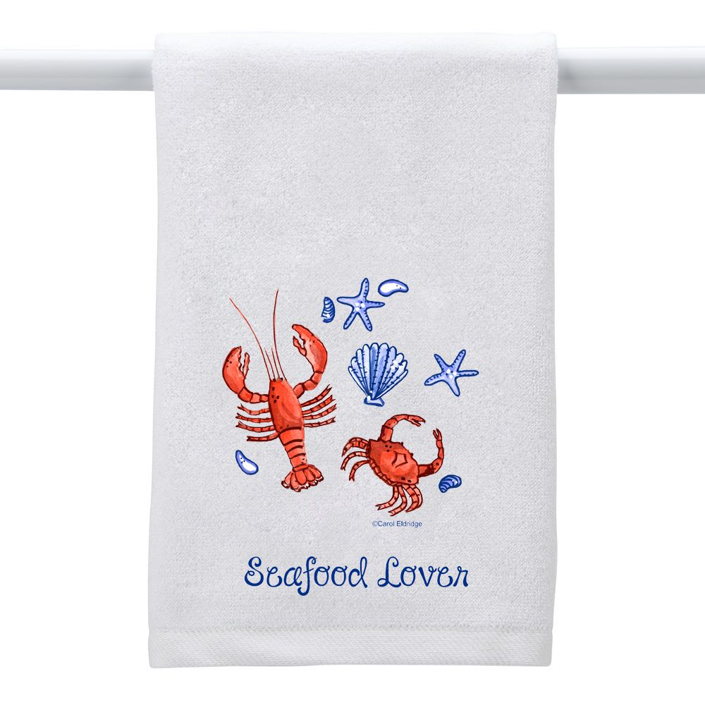 Seafood Lover - Hand Towel ...