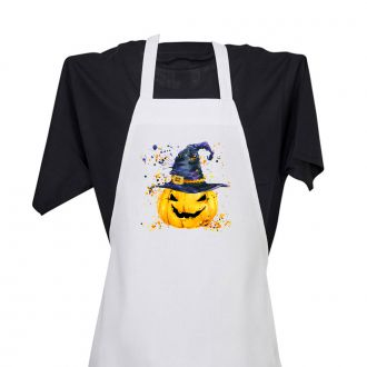 Pumpkin with Hat - Apron