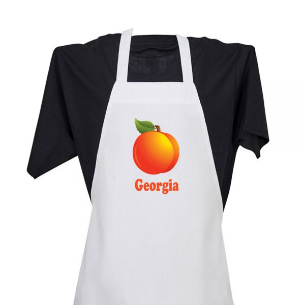Georgia (with Peach) - Apron