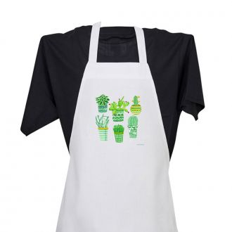 Succulent Plant Collection - Apron