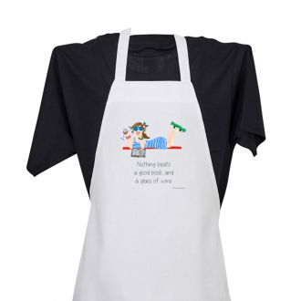 Good Book . . .Wine - Apron