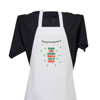 Jingle . . . Mingle . . . Cheer - Apron